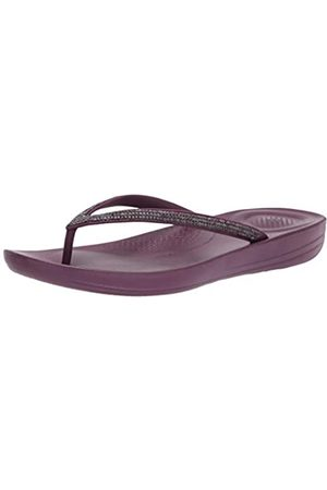 FitFlop Iqushion Sparkle, Zapatos de Playa y Piscina Mujer