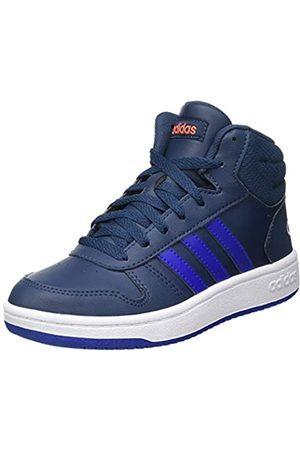 adidas Hoops Mid 2.0, Basketball Shoe, Crew Navy/Team Royal Blue/Footwear White