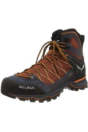 Salewa MS Mountain Trainer Lite Mid Gore-Tex, Trekking-& Wanderstiefel Hombre, (Black out/Carrot 0927)