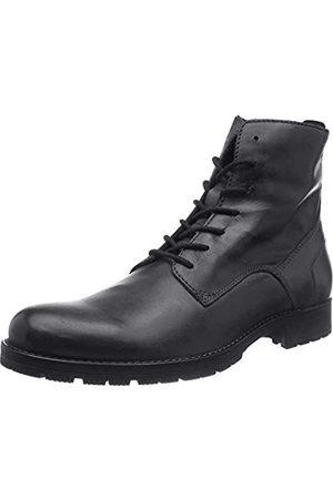 JACK & JONES JFWORCA Leather Anthracite 19 STS, Chukka Boots Hombre