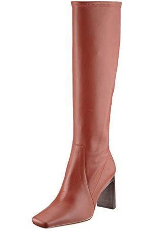 HUGO BOSS BOSS Damen Alek STR.Long B85-NC Kniehohe Stiefel, Rust/Copper224