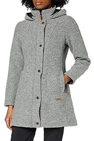 CMP Wooltech - Parka con capucha para mujer, Mujer, 30M3386, Grey M.