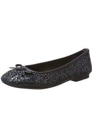 Soft Line 22163, Bailarinas para Mujer, (Navy Glitter)