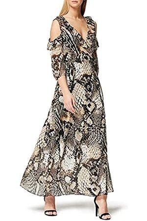 TRUTH & FABLE Marca Amazon - Vestido Largo de Flores Mujer, 36
