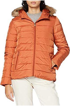 Roxy Rock Peak Fur - Chaqueta Con Capucha Y Acolchado Resistente Al Agua Para Mujer Chaqueta Con Capucha Y Acolchado Resistente Al Agua, Mujer