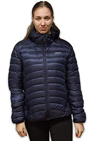 LOWLAND OUTDOOR Chaqueta con capucha Optimum Down para mujer., Mujer, Chaqueta de plumón con capucha, HNWXL