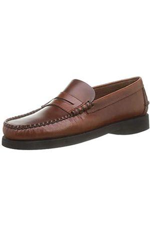 SEBAGO Dan Waxy Polaris, Loafer Hombre, (Brown Cinnamon)