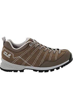 Jack Wolfskin Scrambler W, Zapatos de Low Rise Senderismo Mujer, Coconut Brown/Light Grey 5208
