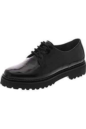 Sioux Velisca, Zapatos de Cordones Derby Mujer, (Schwarz 64110)