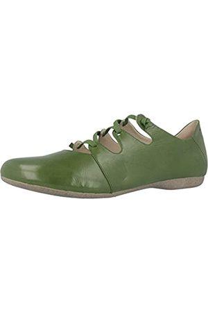 Josef Seibel Fiona 04 - Zapatos cerrados con cordón en zig-zag para Mujer , - Grün (india)