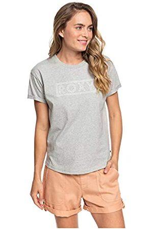 Roxy Epic Afternoon T Camiseta de Mangas Cortas Enrolladas, Mujer