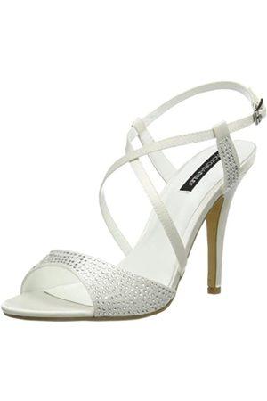 Victoria Delef Bridal Shoes 14V0542 - Sandalias de satén para Mujer, Color