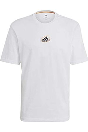 adidas GN6860 Scribble tee M T-Shirt Mens White S