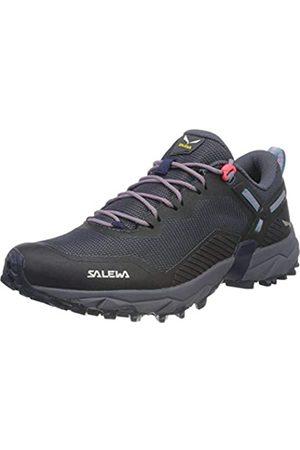Salewa WS Ultra Train 3, Zapatillas para carrera de senderos Mujer, (Navy Blazer/Maui Blue)