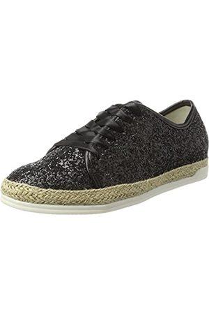 Jenny Long Island, Zapatos de Cordones Derby Mujer, (Schwarz 71)