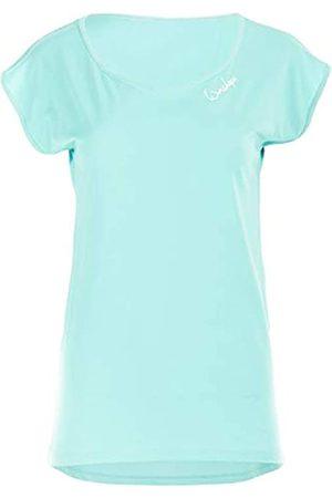 Winshape Mct013 - Camiseta de Manga Corta para Mujer, Ultraligera, Modal, con Dobladillo Redondeado, Estilo, Mujer, Camiseta, MCT013