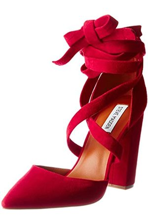 Steve Madden 91000230-0S0, Zapatos de tacón Mujer, (Red)