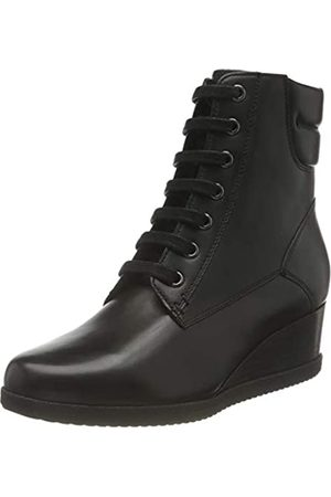 Geox D ANYLLA WEDGE E BLACK Women's Boots Classic size 40(EU)