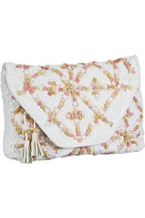 Antik Batik Crochet - Bolso de Mano de Lana Mujer, Color