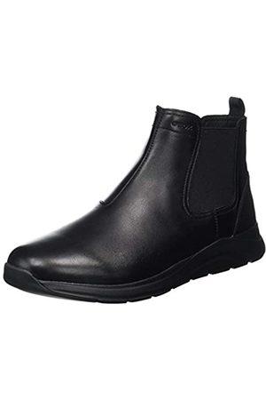 Geox U DAMIANO A BLACK Men's Boots Chelsea size 45(EU)