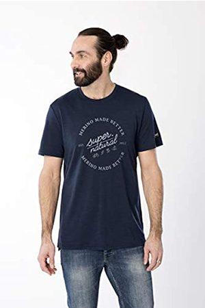 Supernatural Super.natural Camiseta de Manga Corta para Hombre M Graphic tee, Hombre, Camiseta de Manga Corta