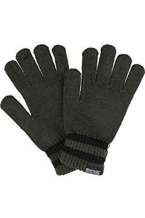Regatta Davion II Acrylic Knit Striped Wrist Gloves Guantes, Hombre