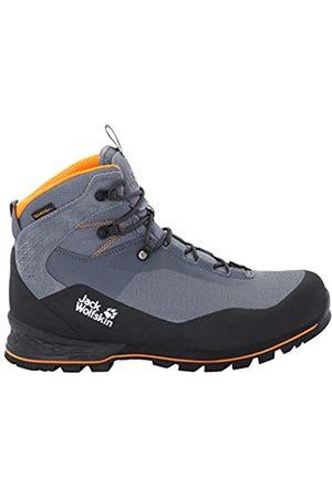 Jack Wolfskin Wilderness Lite Texapore Mid M Zapatos de High Rise Senderismo para Hombre, ( Pebble /Black 6507)