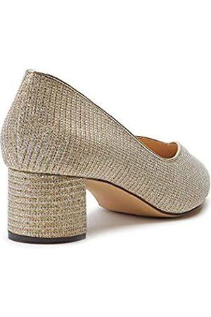 Paradox London Pink Fable, Zapatos de tacón con Punta Cerrada Mujer, (Champagne 225)