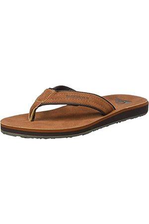Quiksilver Carver Nubuck, Zapatos de Playa y Piscina Hombre, (Brown/Brown/Brown Xccc)