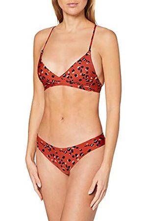O'Neill PW Baay Maoi Mix Bikini Bikini para Mujer, Mujer, Red AOP
