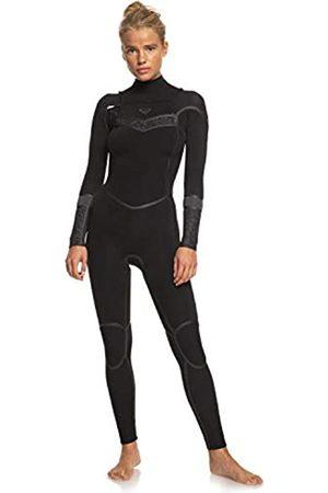 Roxy Traje de Surf con Cremallera en el Pecho para Mujer Bañador, Black/Black