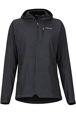 Marmot Wm's Alpha 60 Jacket Chaqueta Senderismo Forrada, Chaqueta Outdoor, Anorak; Repelente Al Agua, A Prueba De Viento, Mujer, Black