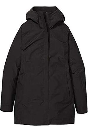 Marmot Mujer Chubasqueros - Wm's Essential Jacket Chubasquero rígido, Chaqueta Impermeable, a Prueba de Viento, Impermeable, Transpirable, Mujer, Black