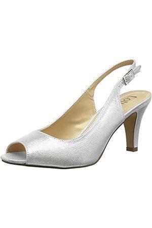 Lotus Mujer Tacón - Larissa, Zapatos de tacón con Punta Abierta Mujer