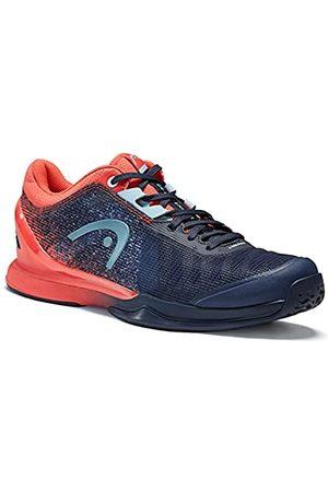 Head Sprint Pro 3.0 Women DBCO, Zapato de Tenis Mujer, Blau/Koralle