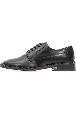 Bronx Mujer Con cordones - Noir, Zapatos de Cordones Derby Mujer, (Black 01)