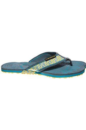 La Sportiva Swing, Zapatillas de Senderismo Hombre, (Slate/Tropic Blue 000)