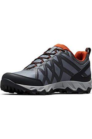 Columbia Hombre Trekking - Peakfreak X2 Outdry, Zapatos de Senderismo, para Hombre, Graphite, Dark Adobe