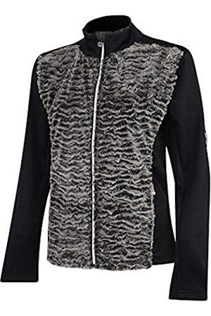 Dare 2B Mujer Jerséis y suéteres - Suéter Tejido de Piel sintética con Cremallera Completa y Forro Polar para Mujer, Mujer, DWA432 2XU18L