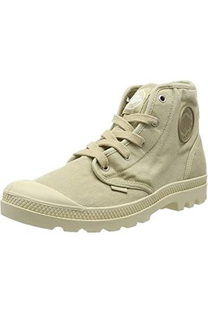 Palladium Mujer Zapatillas deportivas - Us Pampa Hi F, Zapatillas Altas Mujer, (Sahara F85)