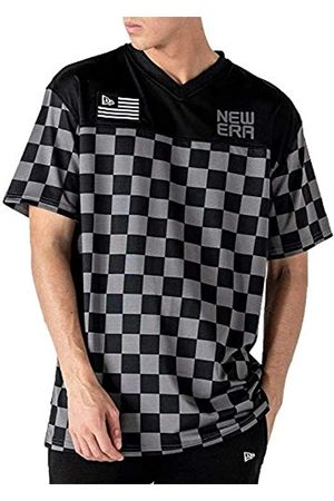 New Era Ne Contemporary Oversized tee Newera Camiseta de Manga Corta, Hombre, Black