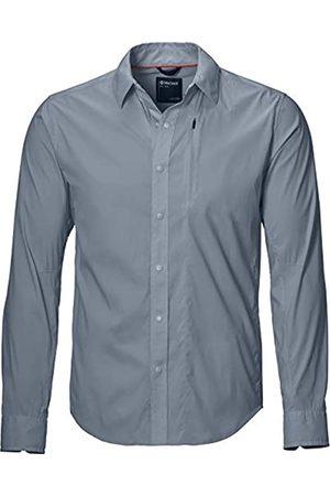 Marmot Camisa Runyon para Hombre, Hombre, Camisa para Hombre, 41380, Acero ónix