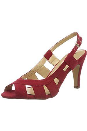 Lotus Mujer Tacón - Dakota, Zapatos de tacón con Punta Abierta Mujer