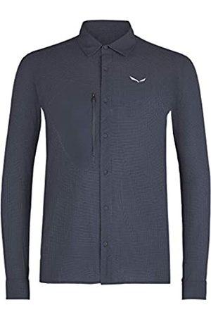 Salewa Hombre Ropa de deporte y Baño - Puez Minicheck2 Dry M L/S Camisa, Hombre