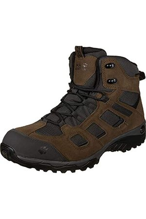 Jack Wolfskin Vojo Hike 2 Texapore Mid, Zapatos de High Rise Senderismo Hombre, (Dark Wood 5690)
