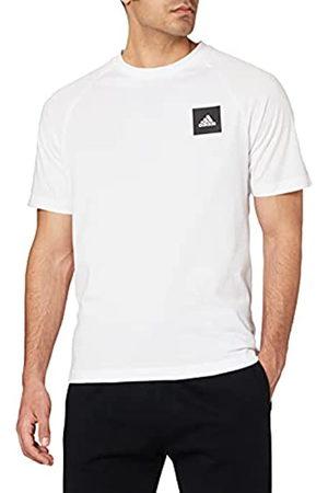 adidas Hombre Manga corta - MHE tee STA T-Shirt, Hombre, White