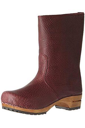 Sanita Puk Boot, Botas Plisadas Mujer, Morado (Aubergine 47)