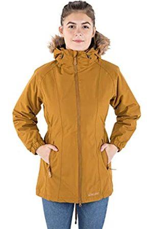 Trespass Celebrity - Chaqueta impermeable para mujer con capucha extraíble, Mujer, Chaqueta con capucha extraíble., FAJKRAN20004_GDBXXS