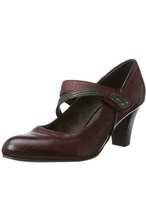 Jana 24302, Zapatos de Tacón Mujer, (Bordeaux)