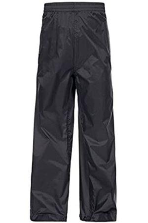 Trespass Qikpac - Pantalones Impermeables compactos con 3 Aberturas de Bolsillo, Unisex niños, Pantalones compactos Impermeables con 3 Aberturas de Bolsillo, UCBTRAM30001_BLK9/10